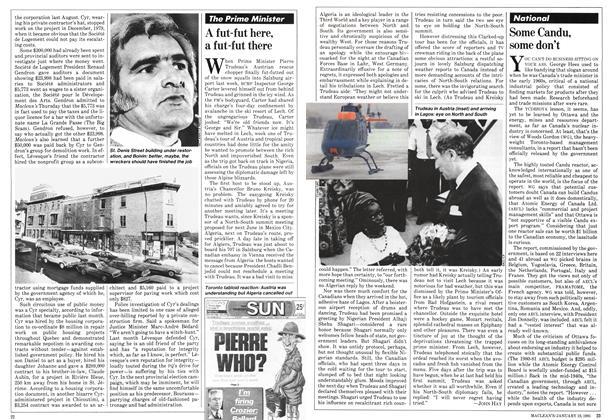 Article Preview: A fut-fut here, a fut-fut there, January 1981 | Maclean's