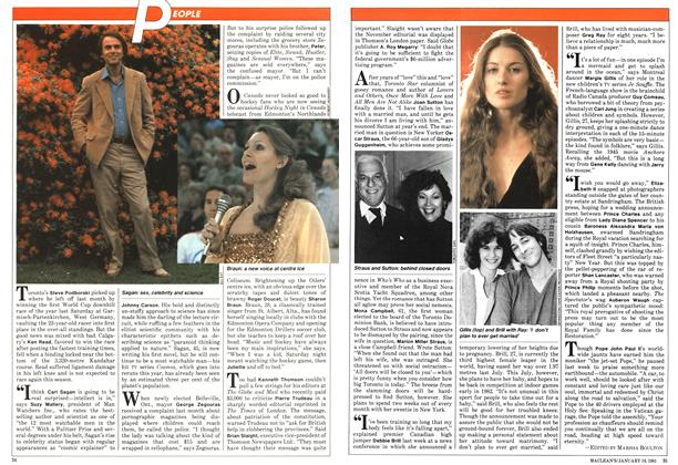 Article Preview: PEOPLE, January 1981   Maclean's