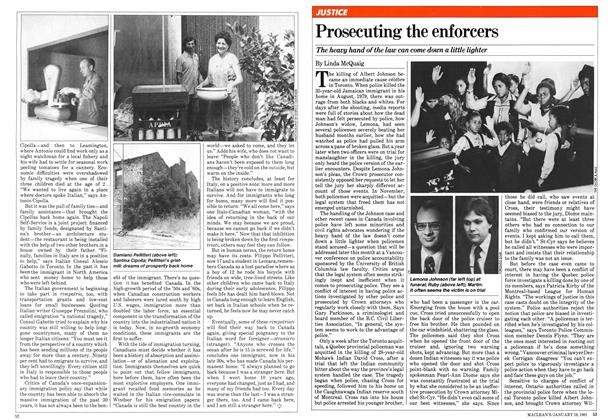 Article Preview: Prosecuting the enforcers, January 1981 | Maclean's