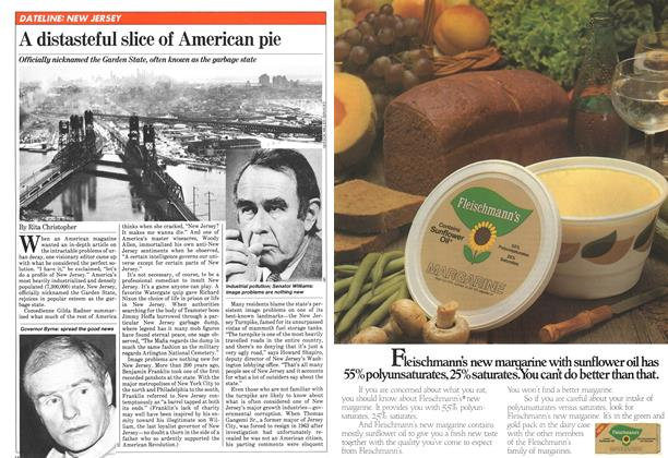 Article Preview: A distasteful slice of American pie, January 1981   Maclean's