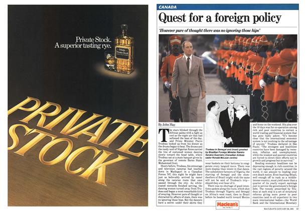 Article Preview: Quest for a foreign policy, January 1981 | Maclean's
