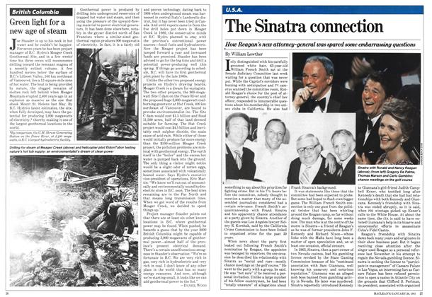 Article Preview: The Sinatra connection, January 1981 | Maclean's