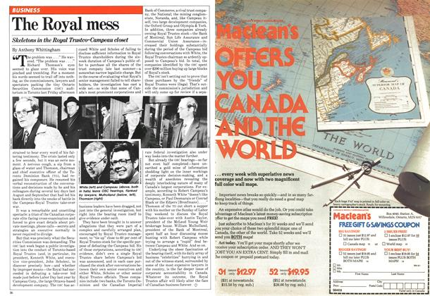 Article Preview: The Royal mess, January 1981   Maclean's