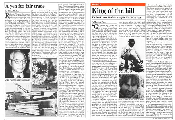 Article Preview: King of the hill, January 1981 | Maclean's