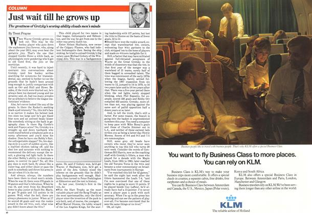 Article Preview: Just wait till he grows up, January 1981 | Maclean's