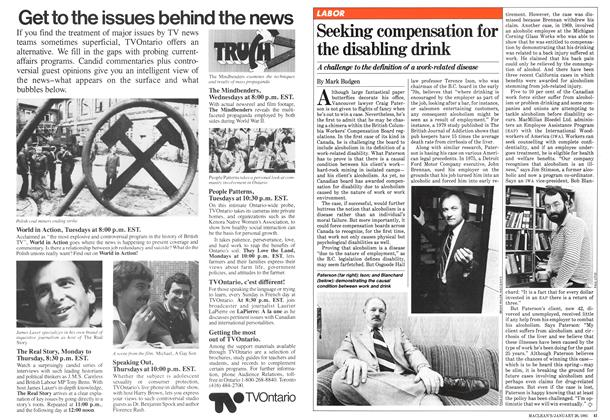 Article Preview: Seeking compensation for the disabling drink, January 1981 | Maclean's