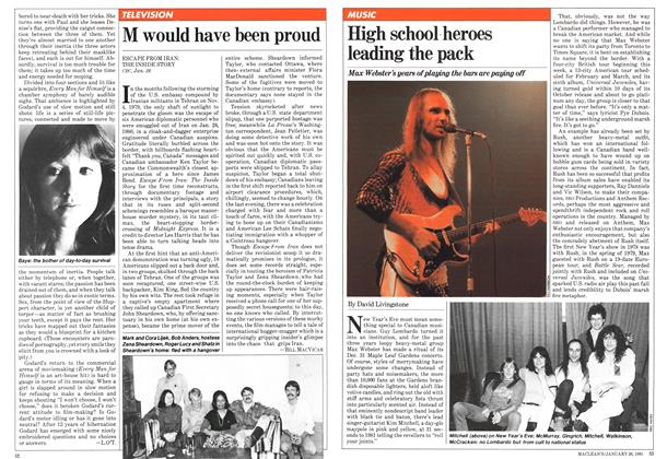 Article Preview: High school heroes leading the pack, January 1981 | Maclean's