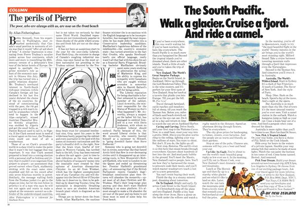 Article Preview: The perils of Pierre, January 1981 | Maclean's