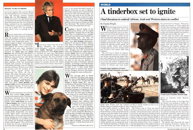 Article Preview: A tinderbox set to ignite, February 1981 | Maclean's