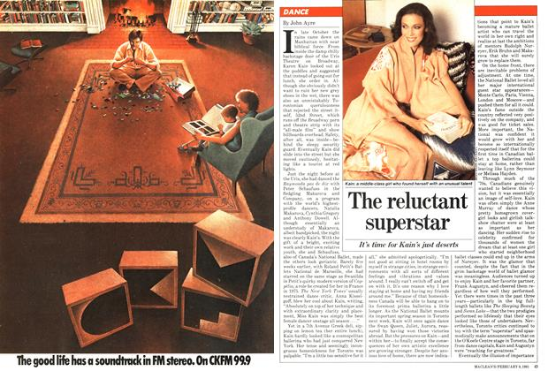 Article Preview: The reluctant superstar, February 1981 | Maclean's