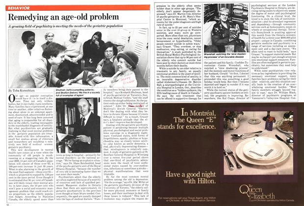Article Preview: Remedying an age-old problem, February 1981 | Maclean's