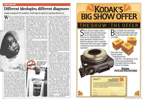 Article Preview: Different ideologies; different diagnoses, February 1981 | Maclean's