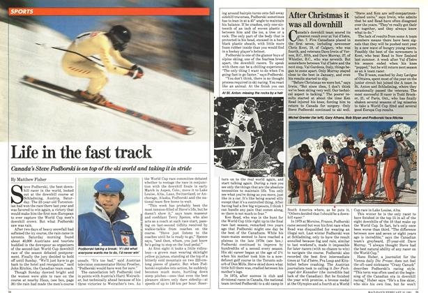 Article Preview: Life in the fast track, February 1981 | Maclean's