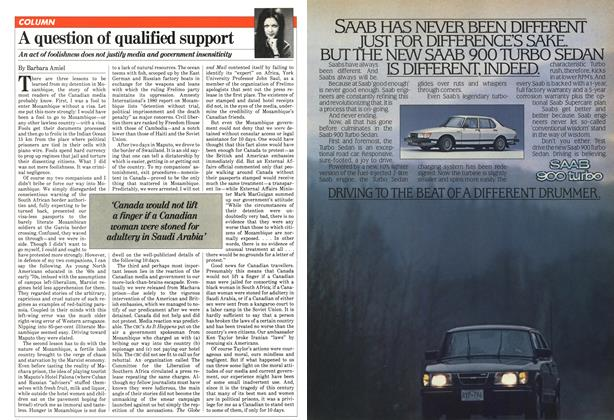 Article Preview: A question of qualified support, February 1981 | Maclean's