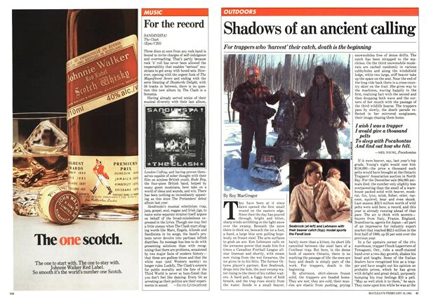 Article Preview: Shadows of an ancient calling, February 1981 | Maclean's