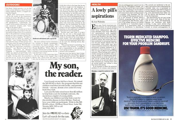 Article Preview: A lowly pill's aspirations, February 1981 | Maclean's