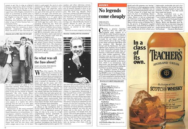 Article Preview: No legends come cheaply, February 1981 | Maclean's