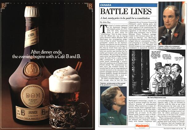 Article Preview: BATTLE LINES, February 1981 | Maclean's