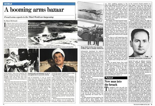 Article Preview: A booming arms bazaar, February 1981 | Maclean's