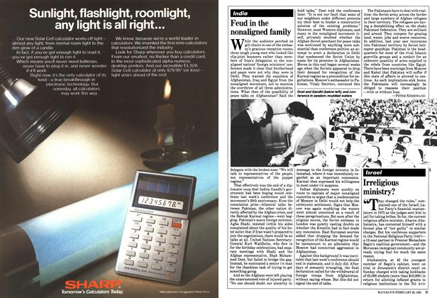 Article Preview: Feud in the nonaligned family, February 1981   Maclean's