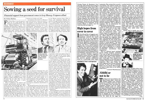 Article Preview: High hopes from cover to cover, February 1981 | Maclean's
