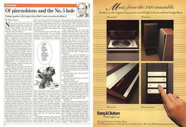 Article Preview: Of pincushions and the No. 5 hole, February 1981 | Maclean's