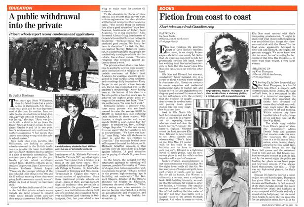 Article Preview: Fiction from coast to coast, February 1981 | Maclean's