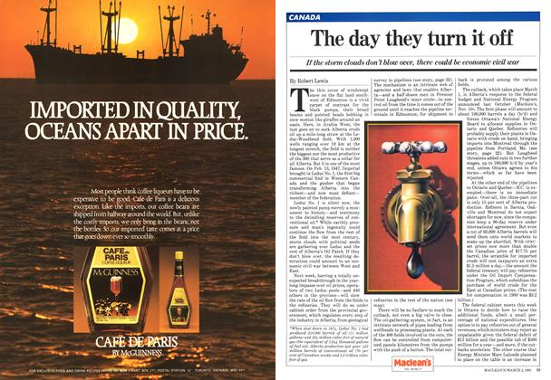 Article Preview: The day they turn it off, March 1981 | Maclean's