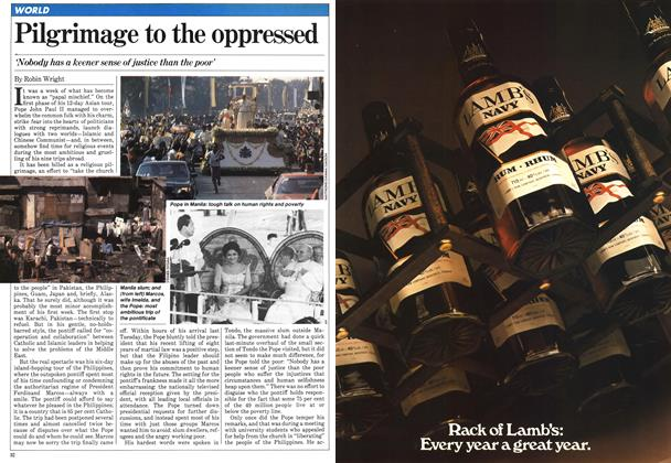 Article Preview: Pilgrimage to the oppressed, March 1981 | Maclean's