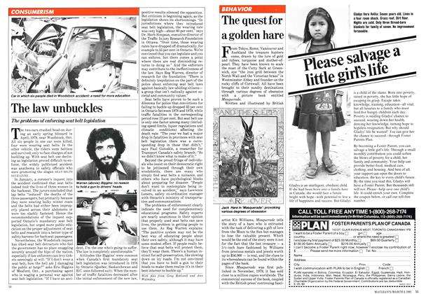 Article Preview: The quest for a golden hare, March 1981 | Maclean's