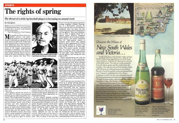 Article Preview: The rights of spring, March 1981 | Maclean's