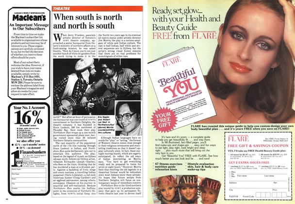 Article Preview: When south is north and north is south, March 1981 | Maclean's