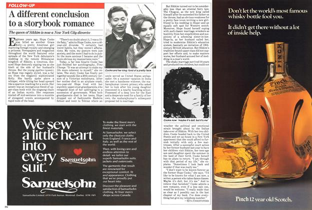Article Preview: A different conclusion to a storybook romance, March 1981 | Maclean's