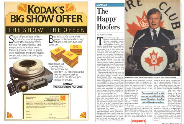 Article Preview: The Happy Hoofers, March 1981 | Maclean's