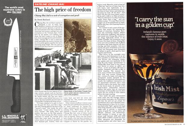 Article Preview: The high price of freedom, March 1981 | Maclean's