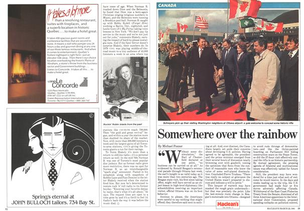 Article Preview: Somewhere over the rainbow, March 1981 | Maclean's
