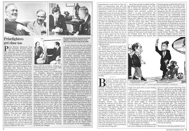 Article Preview: Prizefighters get close too, March 1981 | Maclean's