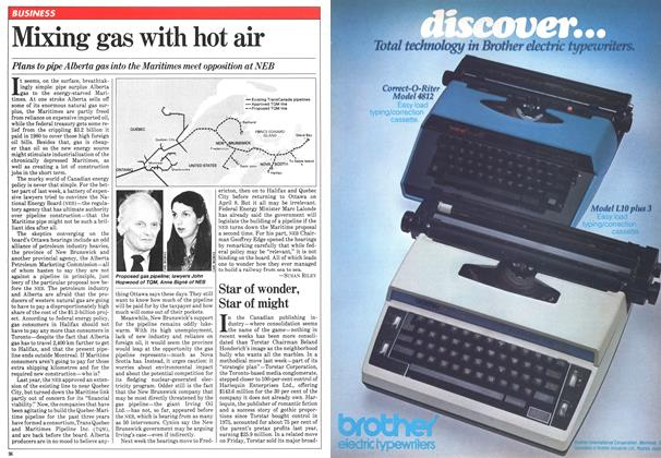 Article Preview: Mixing gas with hot air, March 1981 | Maclean's