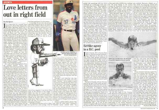 Article Preview: Love letters from out in right field, March 1981 | Maclean's