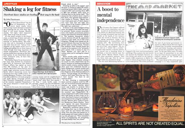 Article Preview: Shaking a leg for fitness, March 1981 | Maclean's