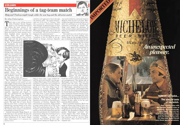 Article Preview: Beginnings of a tag-team match, March 1981 | Maclean's