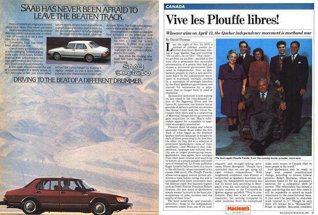 Article Preview: Vive les Plouffe libres!, March 1981 | Maclean's