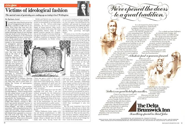 Article Preview: Victims of ideological fashion, March 1981 | Maclean's