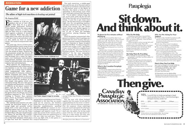 Article Preview: Game for a new addiction, March 1981 | Maclean's