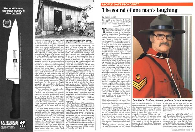 Article Preview: The sound of one man's laughing, March 1981 | Maclean's