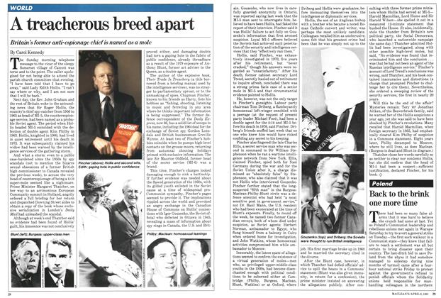 Article Preview: A treacherous breed apart, April 1981 | Maclean's