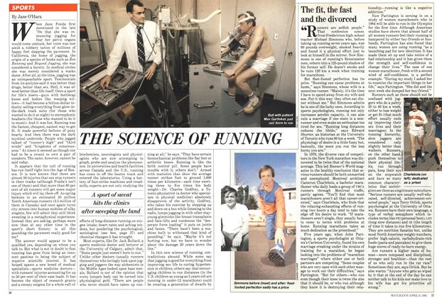 Article Preview: The fit, the fast and the divorced, April 1981 | Maclean's
