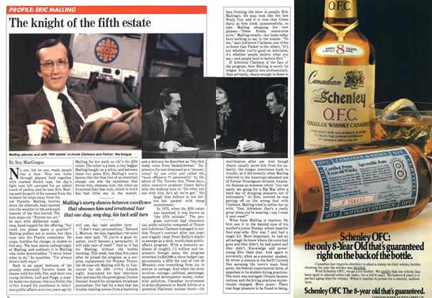 Article Preview: The knight of the fifth estate, April 1981 | Maclean's
