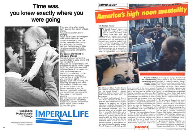 Article Preview: American's high noon mentality, April 1981 | Maclean's
