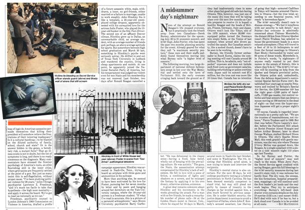 Article Preview: A midsummer day's nightmare, April 1981 | Maclean's